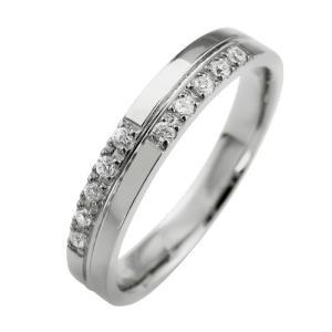 ダイヤモンド クロス リング K18WG jwl-i