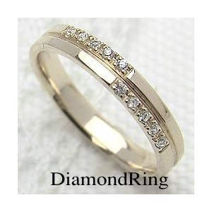 ダイヤモンド クロスリング K18YG 指輪 jwl-i