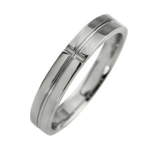 クロスリング ホワイトゴールドK18 レディースリング K18WG 指輪 記念日 贈り物 ファッションリング jwl-i