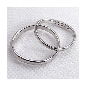 結婚指輪 プラチナ Vライン ダイヤモンド マリッジリング Pt900 V字 ペアリング 2本セット|jwl-i|03