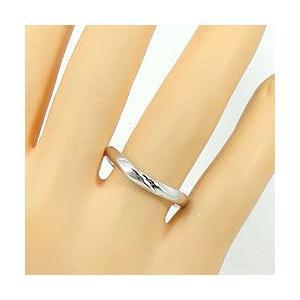 結婚指輪 プラチナ Vライン ダイヤモンド マリッジリング Pt900 V字 ペアリング 2本セット|jwl-i|05