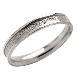 メンズリング プラチナ Pt900 粗しデザイン 指輪 Men's シンプルリング jwl-i
