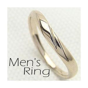 メンズリング イエローゴールドK10 シンプル Men'sRing K10YG 指輪 贈り物 アクセサリー jwl-i