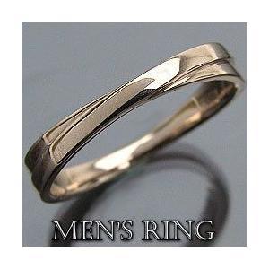 クロスメンズリング イエローゴールドK18 指輪 K18YG Men'sring 誕生日 アクセサリー オシャレ jwl-i