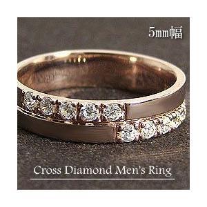 メンズアクセサリーショップ men'sリング 指輪ピンクゴー...