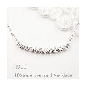 ネックレス レディース ダイヤモンド ネックレス プラチナ ...