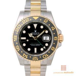 ロレックス 116713LN GMTマスターII...