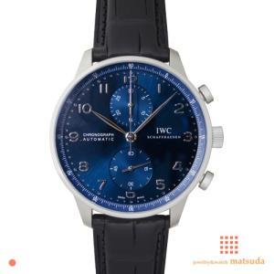 IWC ポルトギーゼクロノグラフ ブルー IW371491 ...