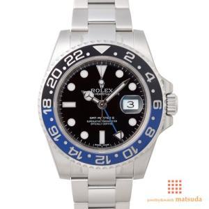 ロレックス 116710BLNR GMTマスターII...