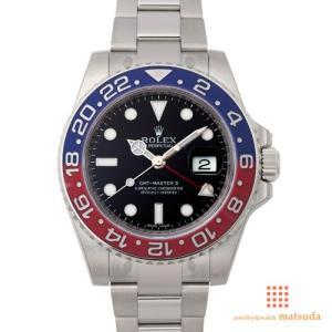 ロレックス 116719BLRO GMTマスターII...