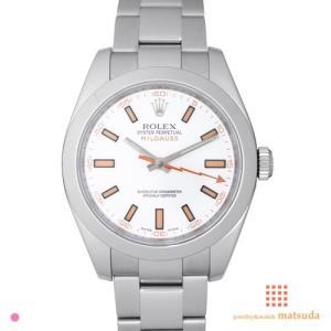 ロレックス 116400 ミルガウス ホワイト V品番 US...