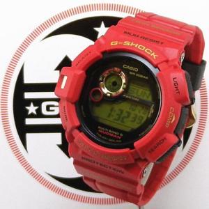 カシオ【G-shock】 30周年記念モデル マッドマン ライジングレッド|jwo-bessho