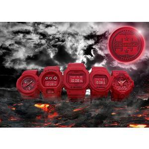 5本セット 定価販売 カシオ CASIO G-SHOCK 誕生35周年記念モデル RED OUT レッドアウト 男気フルセット Gショック 限定 国内正規品 新品|jwo-bessho