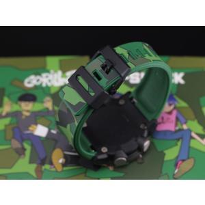 カシオ G-SHOCK ゴリラズ 限定コラボモデル G-SHOCK Gorillaz Gショック GA-2000GZ-3AJR jwo-bessho 04