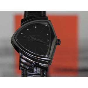 ハミルトンは安心の正規販売店で HAMILTON ベンチュラ クォーツ フルブラック VENTURA QUARTZ FULL BLACK 日本先行販売 H24401731|jwo-bessho|04