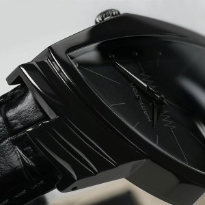 ハミルトンは安心の正規販売店で HAMILTON ベンチュラ クォーツ フルブラック VENTURA QUARTZ FULL BLACK 日本先行販売 H24401731|jwo-bessho|09