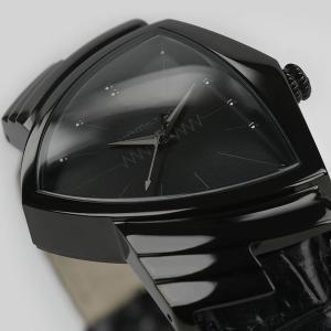 ハミルトンは安心の正規販売店で HAMILTON ベンチュラ クォーツ フルブラック VENTURA QUARTZ FULL BLACK 日本先行販売 H24401731|jwo-bessho|10