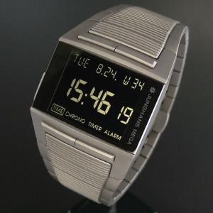 正規販売店で買う ユンハンス JUNGHANS メガ1000 チタン デジタル電波時計|jwo-bessho