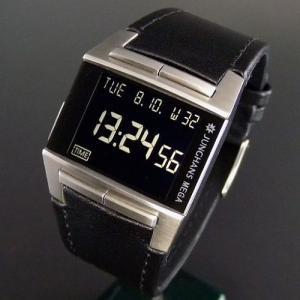 正規販売店で買う ユンハンス JUNGHANS メガ1000 SS デジタル電波時計|jwo-bessho