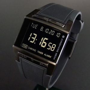 正規販売店で買う ユンハンス JUNGHANS メガ1000 ブラック デジタル電波時計|jwo-bessho