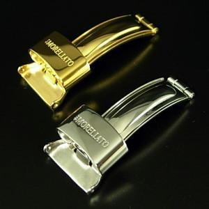 ゆうパケット便OK! モレラート オリジナルDバックル 3つ折れ式 16,18mm|jwo-bessho