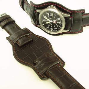 あて革つき時計ベルト【MIMOSA】 選べる4色|jwo-bessho