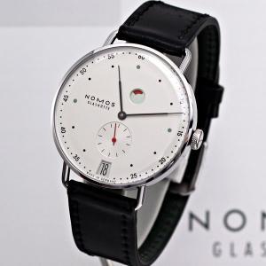 ノモスは安心の正規販売店で NOMOS METRO メトロ 37mm デイト パワーリザーブ 日本正規品|jwo-bessho