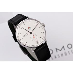 ノモスは安心の正規販売店で NOMOS METRO メトロ 37mm デイト パワーリザーブ 日本正規品|jwo-bessho|02