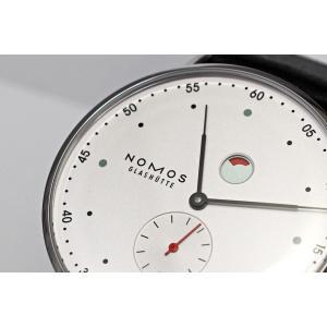 ノモスは安心の正規販売店で NOMOS METRO メトロ 37mm デイト パワーリザーブ 日本正規品|jwo-bessho|03
