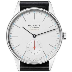 ノモスは安心の正規販売店で NOMOS オリオン ネオマティック ORION neomatik ホワイト 日本正規品|jwo-bessho