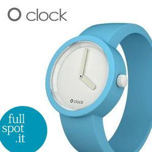 オクロック 【O clock】 ライトブルー(水色) イタリア生まれのアートウォッチ|jwo-bessho