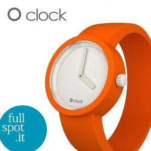 オクロック 【O clock】 ピュアオレンジ(橙) イタリア生まれのアートウォッチ|jwo-bessho