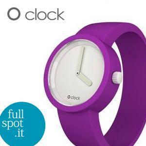 オクロック 【O clock】 パープルバイオレット(紫) イタリア生まれのアートウォッチ|jwo-bessho