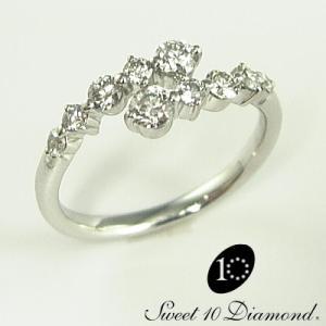 スイートテン・ダイヤモンド リング 【正規品】 10年目の記念日に|jwo-bessho