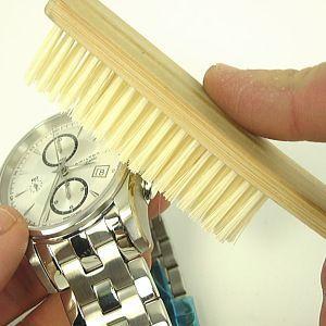 時計専用 汚れを掻き出す 豚毛ブラシ ゆうパケット便OK|jwo-bessho