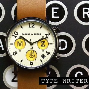 安心のロングサポート!>>カバン・ド・ズッカ ZUCCa Typewriter タイプライター オフホワイト|jwo-bessho