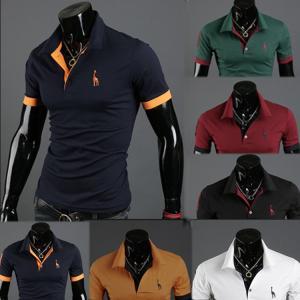 メンズ ポロシャツ 半袖 トップス カットソー 大きいサイズ ファッション 2020 春 夏 ゴルフ...