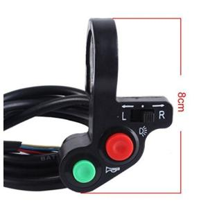 汎用ウィンカーハイ ビームホーンハザードプッシュハンドルスイッチバギー22mm 対応|jxshoppu