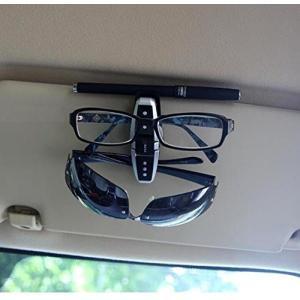 サングラスクリップメガネクリップ カードホルダー車載ホルダー運転席助手席用便利です|jxshoppu