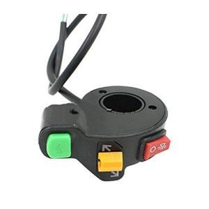 バイク用汎用集中スイッチ ライト ウィンカー ホーン汎用品 バギー トライクなどにも|jxshoppu
