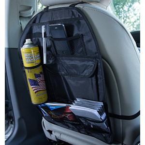 小物整理!座席後部に架けるだけ小物入れ大容量 シートバック 車載収納 ポケット|jxshoppu