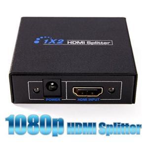 HDMI分配器 スプリッター1入力2出力3D対応|jxshoppu