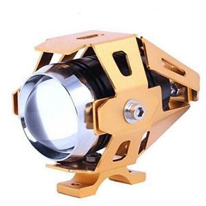 バイク用防水CREELEDスポットライト発光3000ルーメンLEDカラー:白「ゴールド」|jxshoppu