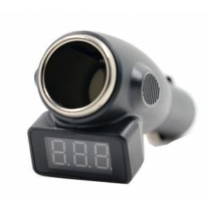 カーバッテリーチェッカー シガーソケットポート バッテリー電圧led ディスプレイ診断ツール|jxshoppu