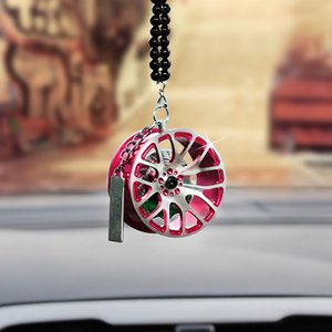 ホイール キーホルダー アクセサリー 5色展開 パーツ ルームミラー 数珠 ストラップ 車 バイク 鍵 メンズ ファッション おしゃれ|jxshoppu
