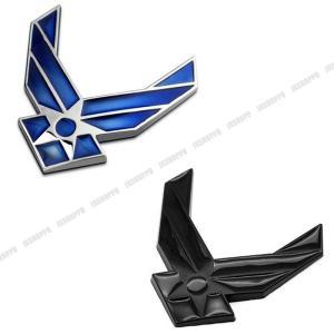 空軍 ステッカー エンブレム 立体 3D アメリカ メタル ドレスアップ カスタム パーツ カー用品 車 外装|jxshoppu
