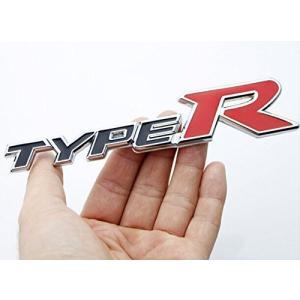 汎用TYPE-RエンブレムブラックタイプR ホンダ シビック CIVIC フィット FIT|jxshoppu
