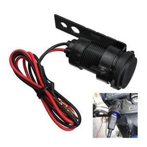 フタ付き防水 バイク 汎用 12V 充電器 USB チャージャー LEDあり 5V1A|jxshoppu