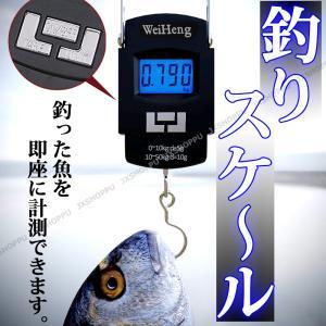 デジタルスケール 50kgまで フィッシングスケール ポータブルスケール コンパクト 吊り下げ 秤 バックライト ポータブル 釣り 携帯 旅行 必需品|jxshoppu