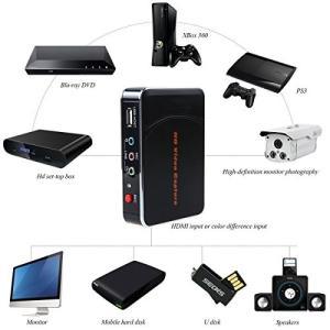 ポータブルビデオキャプチャーデバイスゲームレコーダー1080p対応実況音声の追加や編集!|jxshoppu